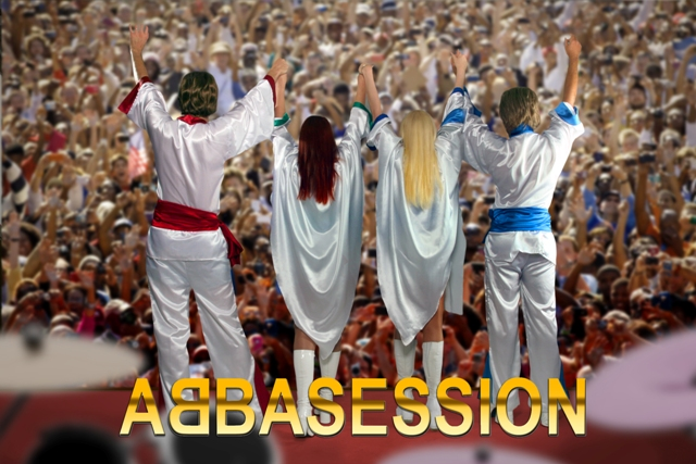 Abbasession Abba Tribute Band Crowd Shot